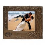 Personalised Claddagh Wedding Frame