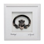 Claddagh Ring Bronze Art