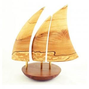 Galway Hooker Wooden Balance Boat