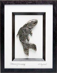 Salmon-of-knowledge-bronze-art
