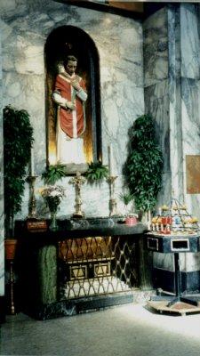 St Valentine's Shrine