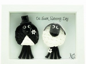 Bride & Groom Crazy Sheep Handmade Wedding Gifts