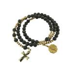 Connemara-marble-rosary-bracelet