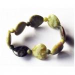 Connemara Marble Hearts Bracelet