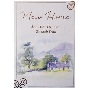 New Home Greeting Card, perfect Irish housewarming card