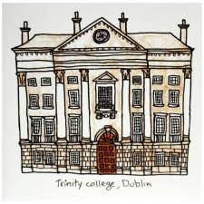 Trinity College Greeting Card