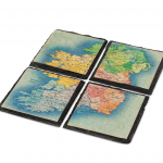 Ireland Map Coasters Irish Gifts for Mothers Day Ireland