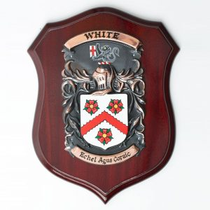 Copper Single Coat of Arms Plaque