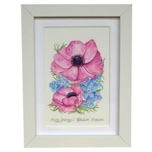 Personalised Forget Me Not