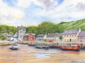 Ballyhack Castle & Harbour Limited Edition Irish Art Prints