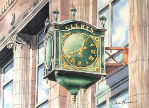 Clerys Clock Limited Edition Irish Art Prints