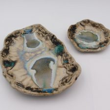 Irish Pottery Summer Dishes set of 2