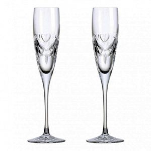 Crystal Champagne Glasses Handmade Wedding Gifts