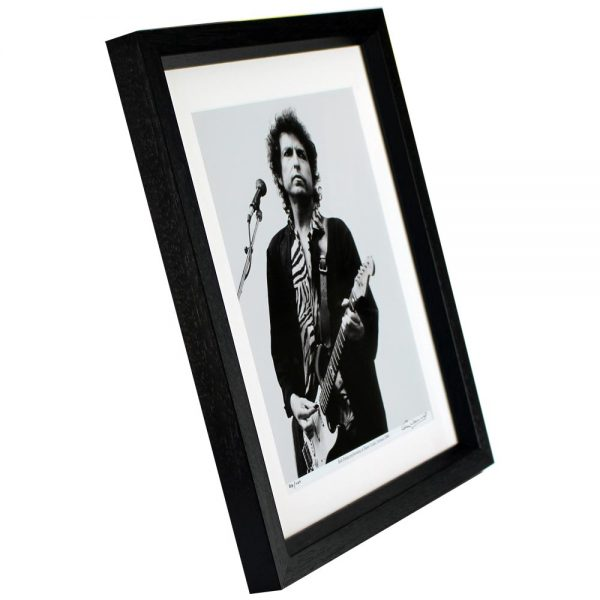 Bob Dylan framed photo print, taken in Ireland by Colm Henry, Hot Press Photographer