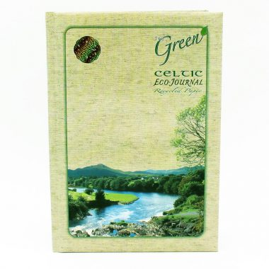 Celtic Eco Journal, recycled paper, made in Ireland