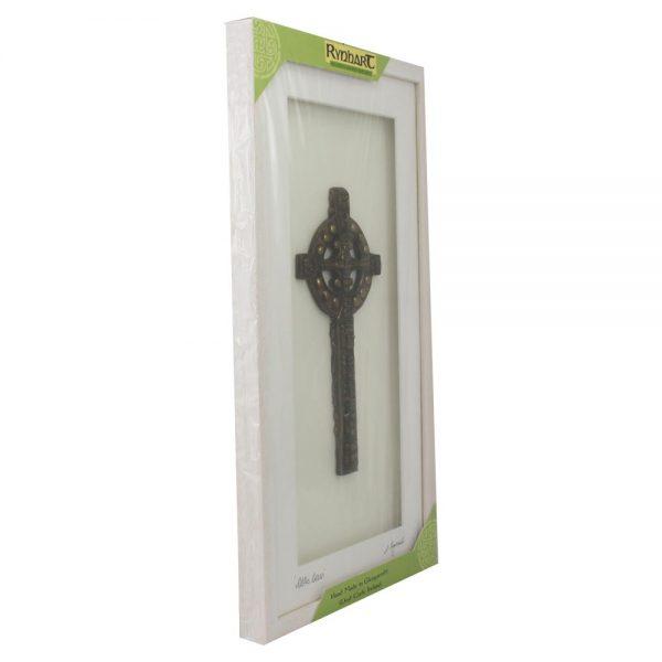 Celtic Cross Framed Bronze Irish gifts made in Ireland