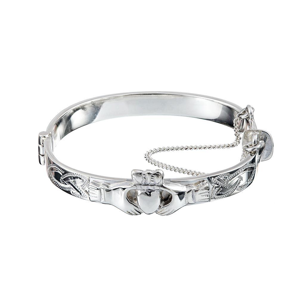 Claddagh Christening Bracelet ☘ Totally Irish Gifts