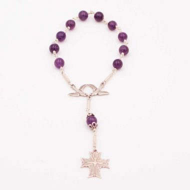 Confirmation Rosary Bracelet Beads made in Ireland