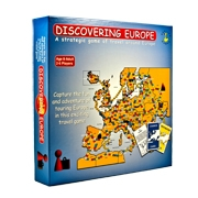 Discovering Europe Board Game made in Ireland
