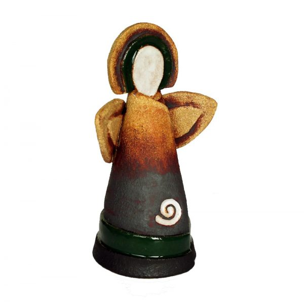 Ceramic Celtic Angel, ceramic gifts made in Ireland