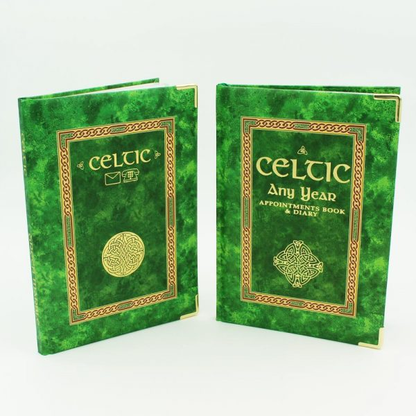 Celtic address book and diary, made in Ireland