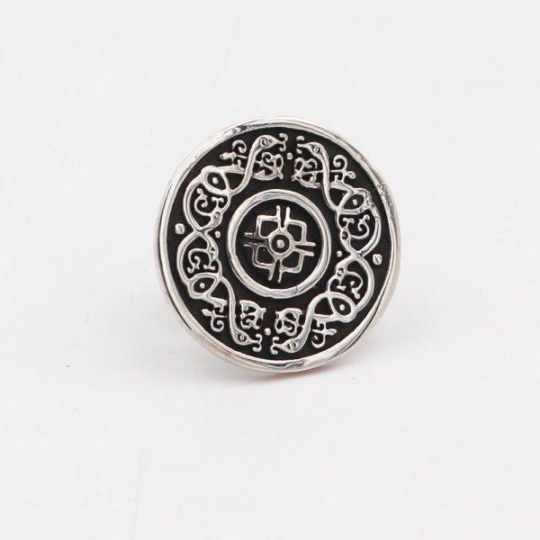 Ardagh Silver Tie Pin, handmade by Arnua Ireland