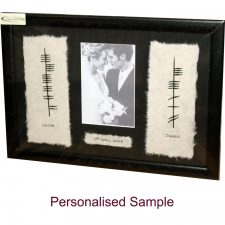 Irish Wedding Gifts Ogham