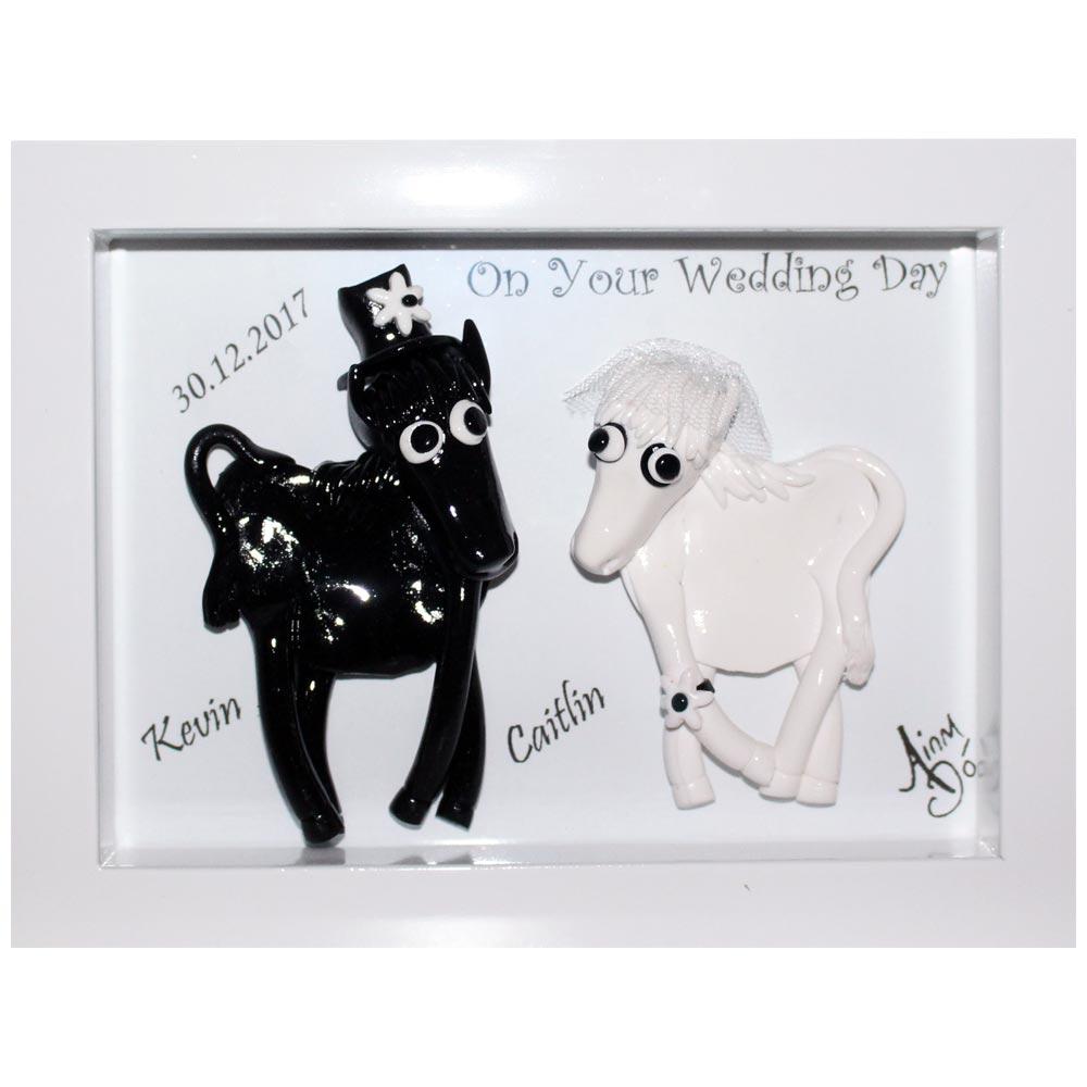 Irish Wedding Gifts From Ireland: Bride And Groom Happy Horses ☘ Totally Irish Gifts
