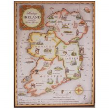 History of Ireland, wooden jigsaw with an introduction to Irish history