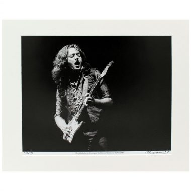 Rory Gallagher National Stadium, photographic print, taken and signed by former Hot Press Photographer Colm Henry