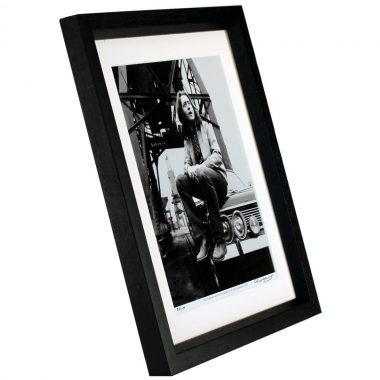 Rory Gallagher Framed Photo Print taken in Cork by Colm Henry Hot Press Photographer