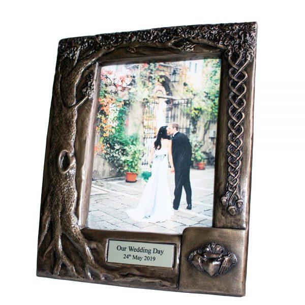 Personalised wedding photo frame