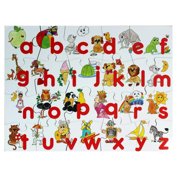 Alphabet Wooden Jigsaw made in Ireland
