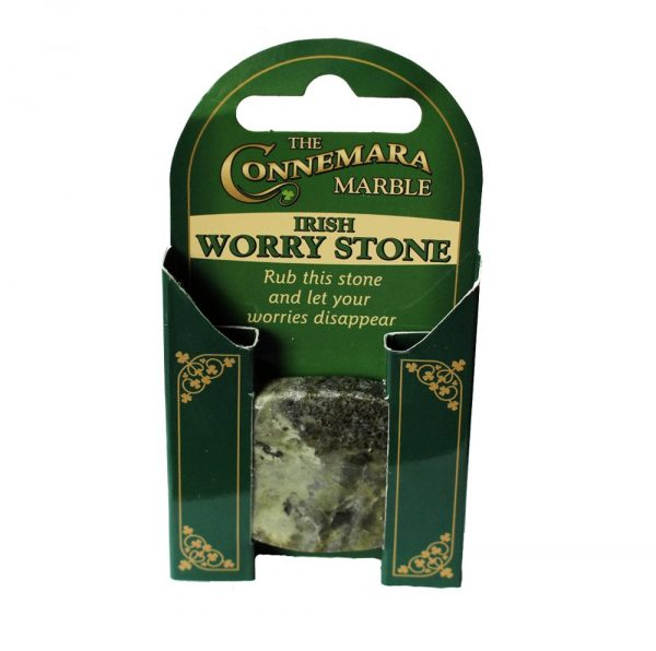 Irish Worry Stone, Connemara Marble Ireland