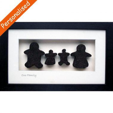 Our Family of 4, unique Irish bog gift, made in Ireland