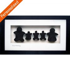 Irish gifts for babies archives totally irish gifts our family of 5 framed irish turf negle Gallery