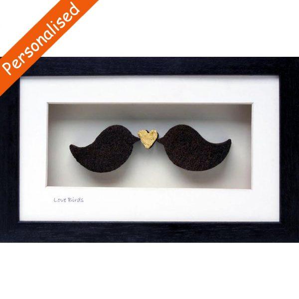 Love Birds Bog Turf gifts handmade in Ireland
