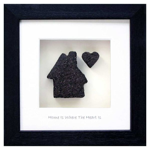 Turf gift home and heart made in Ireland