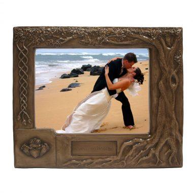 Claddagh Wedding Photo Frame