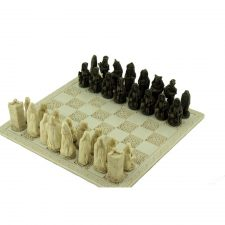 Irish Celtic Legends Chess Set