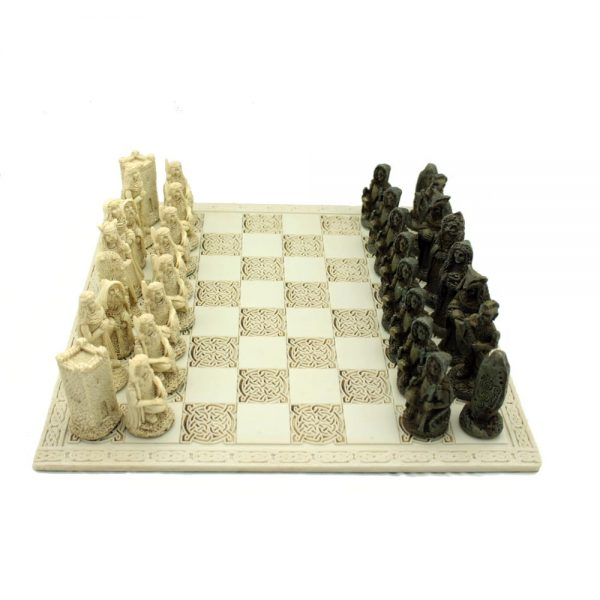 Quality Celtic Legends Irish Chess Set