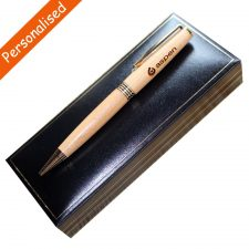 Personalised Wooden pens handmade in Ireland