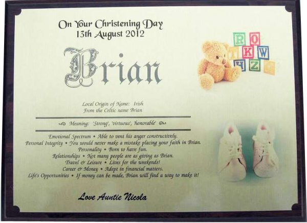 Christening Gifts made in Ireland