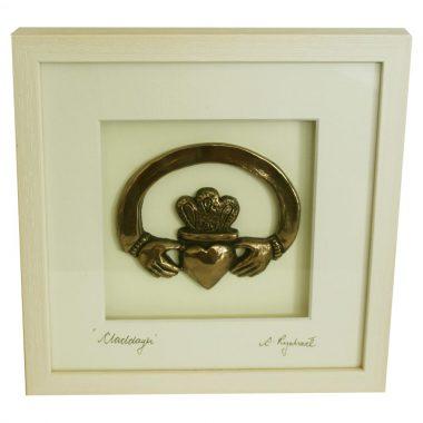 Claddagh Ring bronze gift 8th wedding anniversary gift