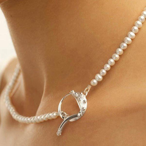 Garrett Mallon, Cloicin Pearl Necklace