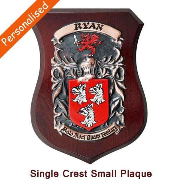 Copper coat of arms handmade in Ireland