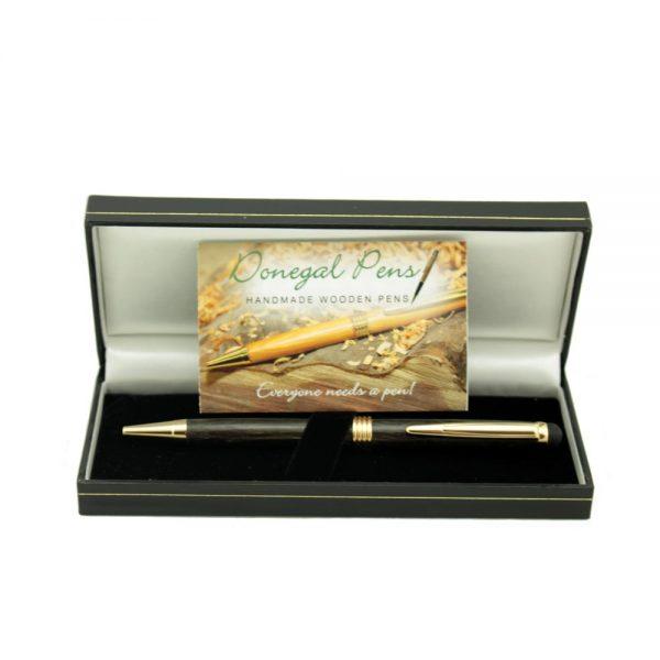 Bog Oak Stylus Pen, made in Ireland