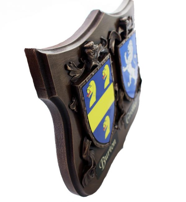 two coats of arms gifts Ireland