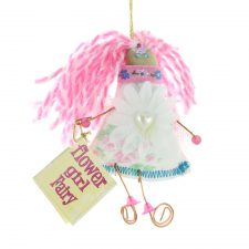 Flower Girl Fairy, handmade in Ireland, lovely little gift for flower girls