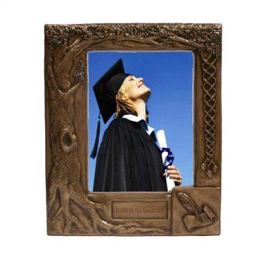 Bronze Graduation photo frame, made in Ireland
